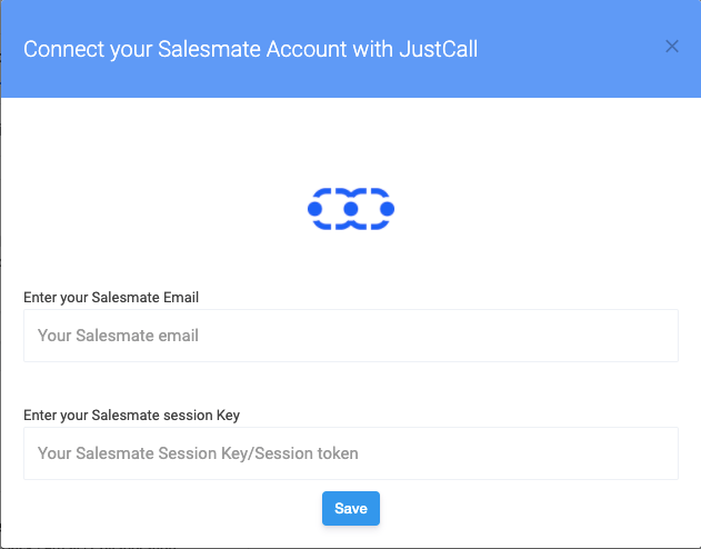 Salesmate integration in JustCall